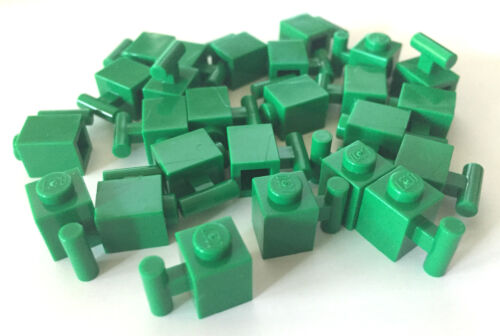 *NEW* 25 Pieces Lego BRICK WITH HANDLE 1x1 GREEN 2921