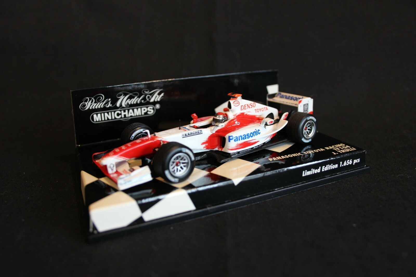 Minichamps Panasonic Toyota Racing TF104 2004 1 43  16 Jarno Trulli (ITA)