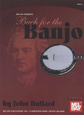 2019 Nieuwe Stijl Bach For The Banjo 5-string Banjo Tab Music Book By John Bullard Ongelijke Prestaties