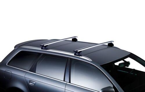 Thule Aluminium WingBars Roof Rack Rail Bars VW Passat Estate 2015 onwards