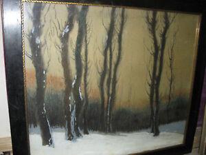 MARKOVIC-Peter-1869-Winterwald-Landschaft