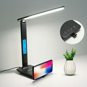 LED-Table-Lamp-QI-Wireless-Charging-With-Calendar-Temperature-Alarm-Desk-Light