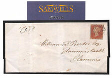 MS3226 1841 GB Scotland Edinr Cover Addressed *GLAMIS CASTLE* ROYALTY Thematic