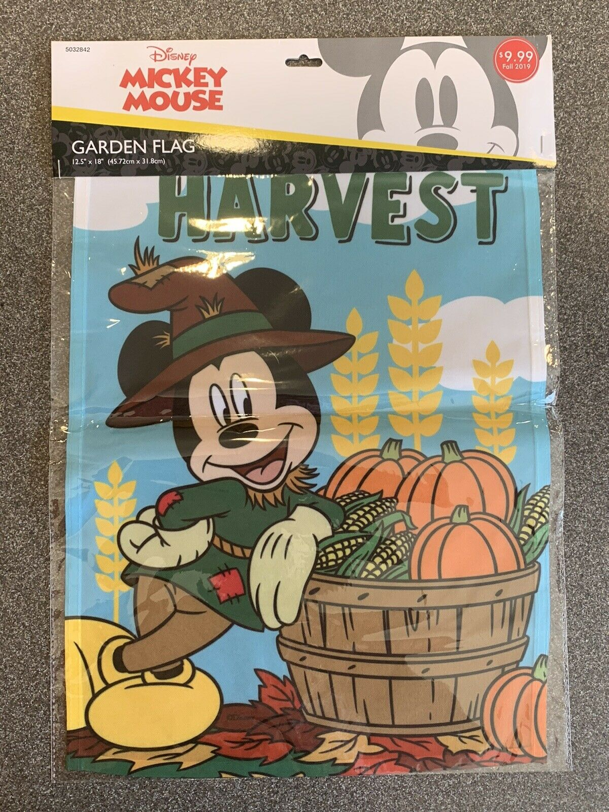 Disney Mickey Mouse Thanksgiving Give Thanks Garden Flag Fall Minnie 29 X41 For Sale Online Ebay
