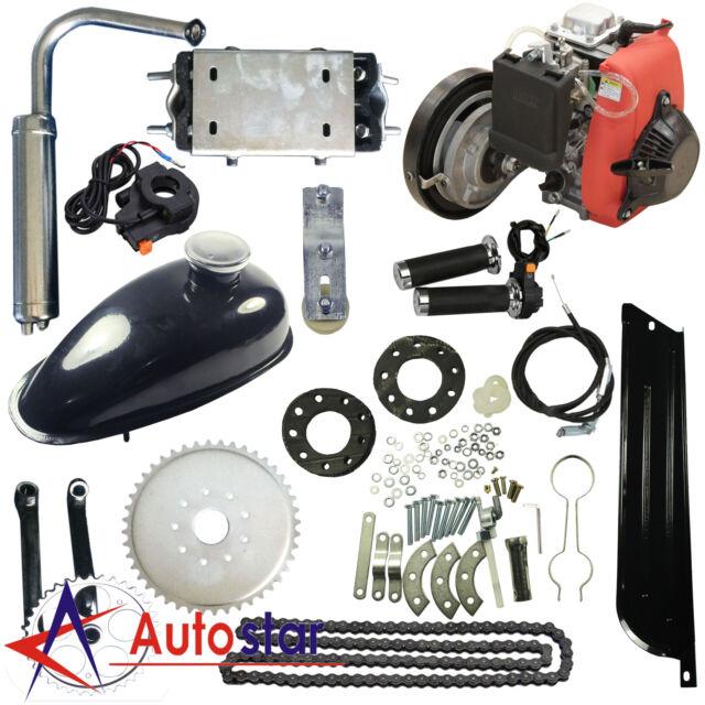 4 Stroke Petrol Gas Engine Motor Kit for Motorized Bicycle Bike Modification 49CC Bicycle Engine Kit