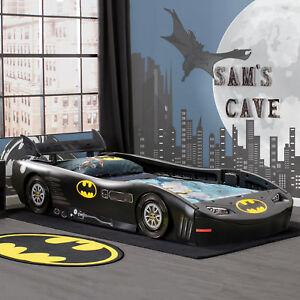 Image Is Loading Batman Toddler Twin Bed Batmobile Plastic Car Molded