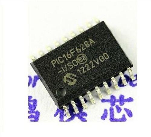 2Pcs PIC16F628A-I//SO Mcu Flash 2KX14 Eeprom 18Soic Microchip wi