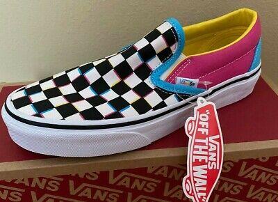 NEW Vans Slip On Checkerboard Skate