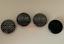 OZ-Racing-Schwarz-Grau-carbon-4-x-55mm-Nabenkappen-Nabendeckel-Satz-M582 Indexbild 1