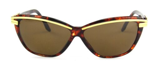 New Club LA 8058 Modified Cat Eye Italian Sunglasses Retro Vintage Jackie O NOS