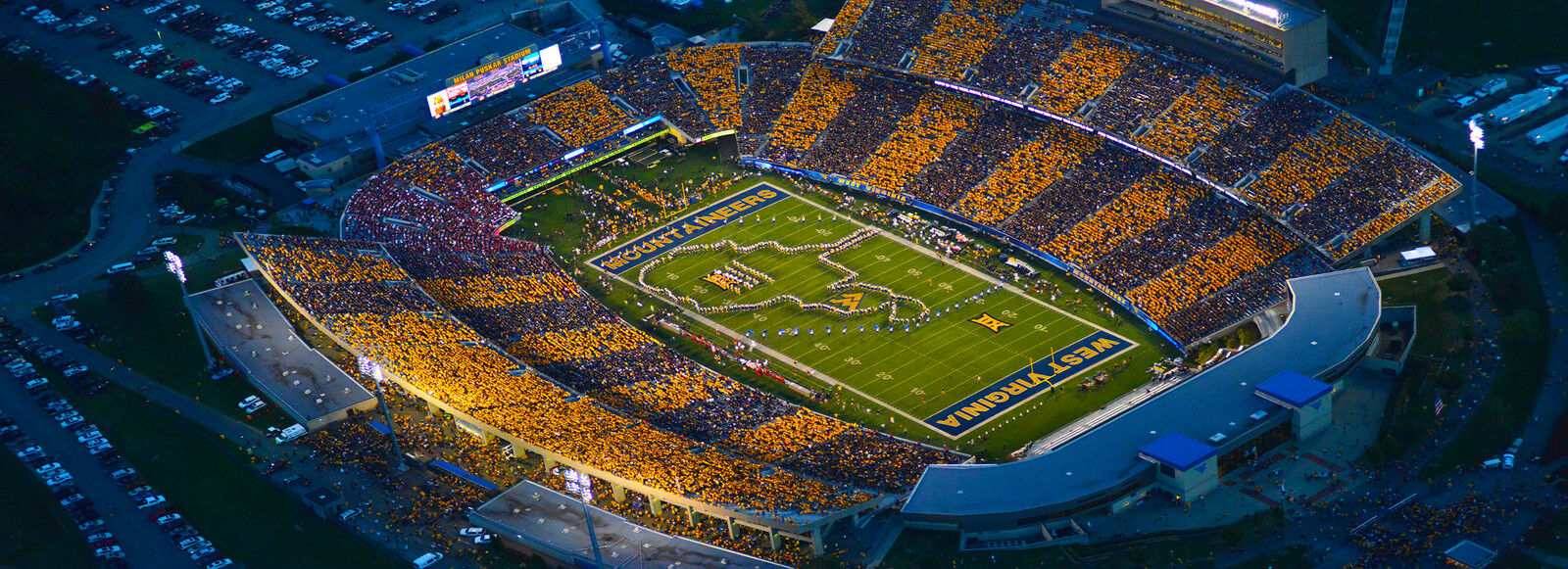 2018 West Virginia Mountaineers Football Season Tickets - Season Package (Includes Tickets for all Home Games)