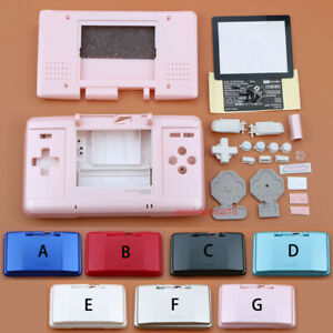 7-Colors-Full-Replacement-Housing-Case-Cover-Shell-Kit-For-Nintend-DS-NDS-Case