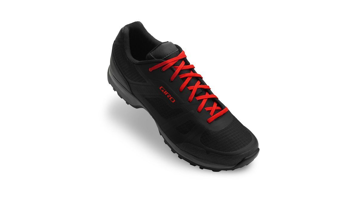 Giro Gauge Trekking Fahrrad Schuhe schwarz/rot 2020