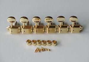 Gold-Strat-Tele-Vintage-Style-Guitar-Tuning-Keys-Guitar-Tuners-Machine-Heads