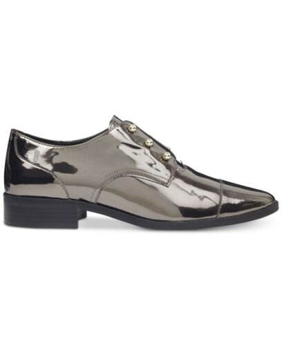 Size 6.0 Nine West Womens Wearable Pointed Toe Oxfords Dark pewter