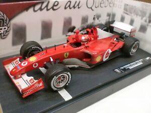 Hotwheels 1/18 - 150 Ferrari F1 Gran Prix s'impose au Canada 06/06/02