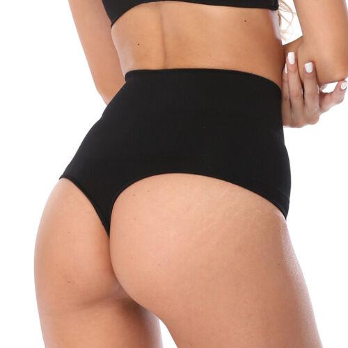 UK Women High Waist Panty Shorts Underwear Slimming Body Shapers Panties Shorts
