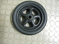 Trailer Jack 8 Replacement Wheel Spare Black Poly