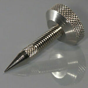 Speaker-Spikes-with-Locking-Nuts-set-of-4-M6-Silver