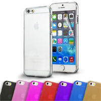 Ultra Thin Crystal Clear Case Cover for iPhone 5 5S SE 6 6S 6 Plus Soft & Hard