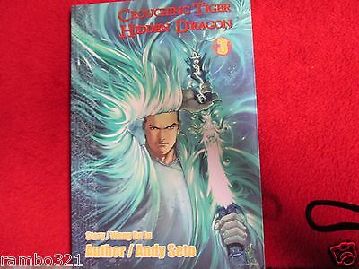Crouching Tiger Hidden Dragon #3 Full Color Manga by Andy Seto comic book