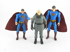 DC Comics Superman Returns x 2 & Lex Luthor