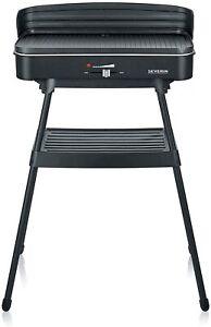 SEVERIN-Standgrill-Elektrogrill-Elektro-Grill-2200W-Barbecuegrill-mit-Staender