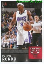 075 RAJON RONDO USA CHICAGO BULLS STICKER NBA BASKETBALL 2017 PANINI