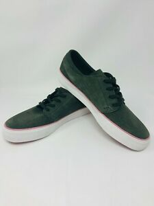 Nike-SB-Stefan-Janoski-Zoom-Air-Sneakers-Mens-Size-10-Shoes-Suede-Green-Pink