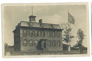RPPC-Mayfield-Union-School-MAYFIELD-NY-Fulton-County-Real-Photo-Postcard