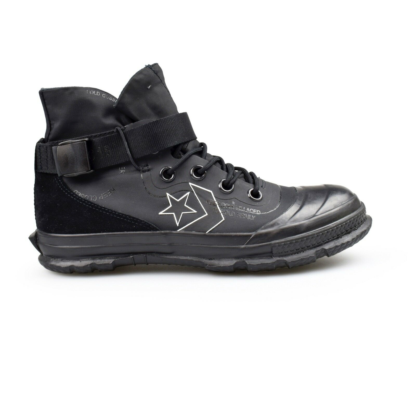 Converse Fastbreak Hi Black MC18 Mountain Club Pack Mens Trainer Boots New