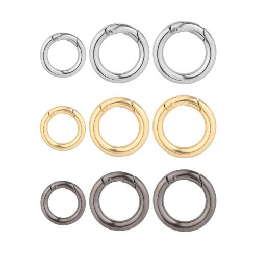 Bag Belt Buckle Spring O-Ring Buckles Carabiner Purses Handbags Snap Clasp Clip