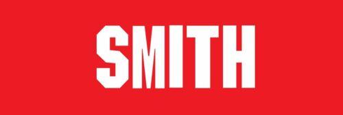 Smith Name only Arsenal 1994-1995 Home Football Nameset for shirt