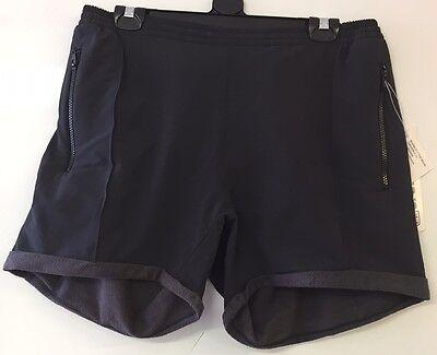 Crewroom Evertek Grid Trail Womens Sport Hiking Shorts Grey Size S BNWT RRP £39
