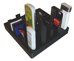SD Card and Micro SD Card Storage Desk Organiser USB UK MADE