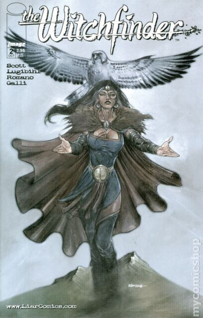 THE WITCHFINDER #2 Cover B New Bagged