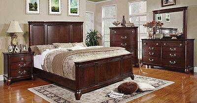 Modern 5pc Bedroom Set Queen King Size Beds Home Furniture cm7258