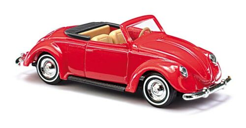 Busch 46723-1//87 Volkswagen // VW Hebmüller Cabrio Rot Neu