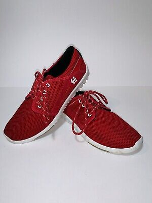 etnies red shoes