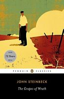 The Grapes Of Wrath By John Steinbeck, (paperback), Penguin Classics , New, Free