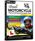 The Complete Motorcycle Theory and Hazard Perception Tests: 2016 by Focus Multimedia Ltd (DVD, 2016)