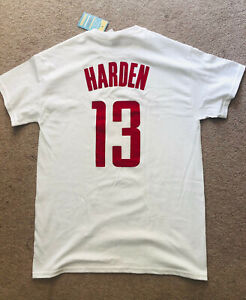 fdf370876 Image is loading James-Harden-13-Houston-Rockets-T-shirt-Jersey