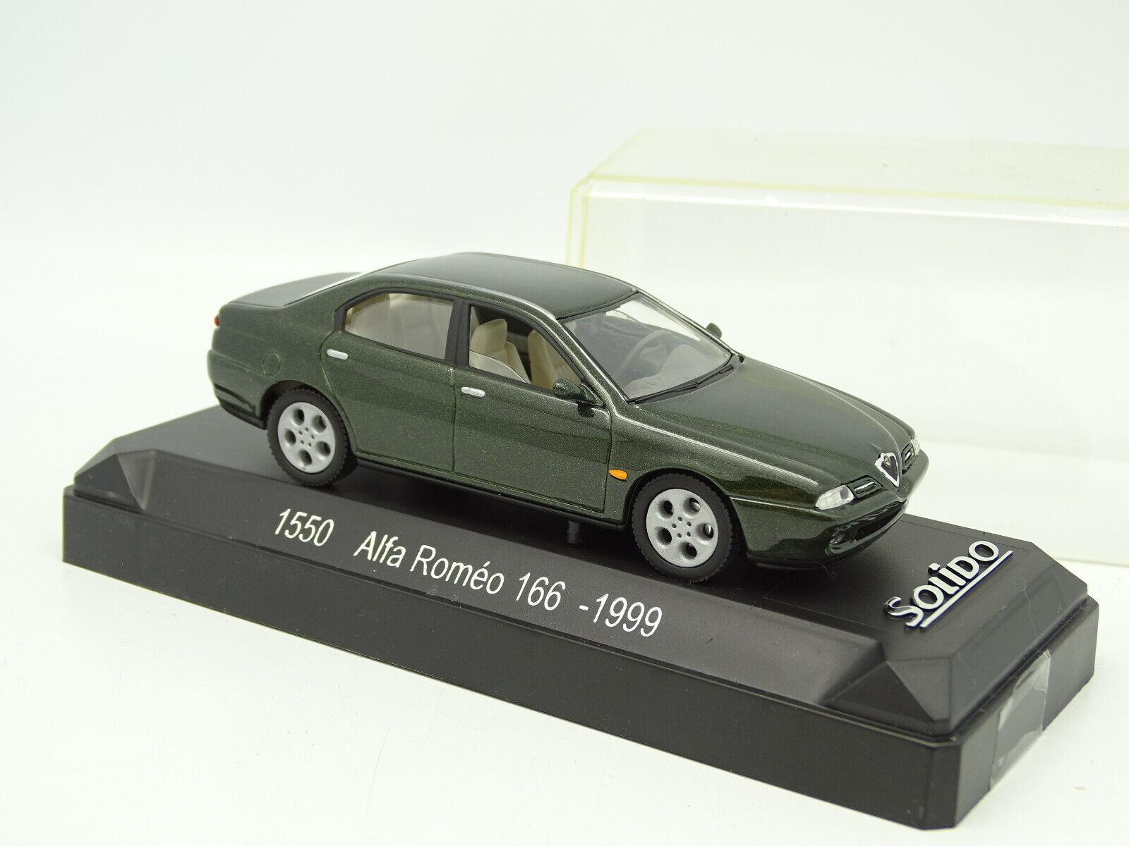 Solido 1 43 - Alfa Romeo 166 1998 Green