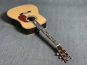 High-Quality-D45S-Solid-Top-Electric-Acoustic-Guitar-Abalone-Inlay-Bone-Nut-101