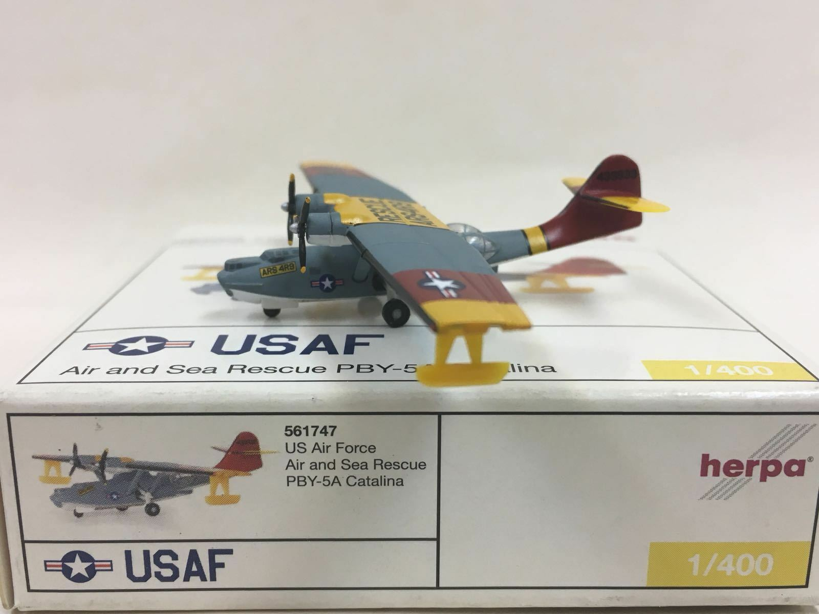 Herpa Wings US Air Force Air and Sea Rescue 1 400 PBY-5A Catalina 561747