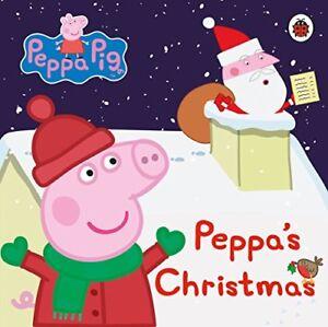 Peppa-Pig-Peppa-039-s-Christmas-by-Board-book-Book-9780241210963-NEW