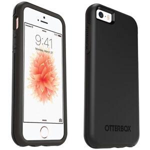 OtterBox Symmetry Series Case for iPhone SE (2016 - 1st Gen), 5 & 5S, Black