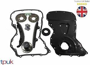 Ford-TRANSIT-MK7-MK8-Steuerkette-Set-2-2-Fwd-Abdeckung-Getriebe-Dichtung-Eigener
