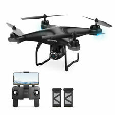 2K HD Camera Holy Stone HS120D FPV Drone GPS RC Selfie Quadcopter with 2 battery