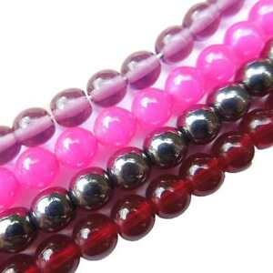 16-034-Strand-Czech-Glass-Druk-Craft-Round-Beads-for-Jewellery-Making